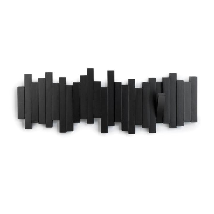 Sticks Wandgarderobe von Umbra in schwarz