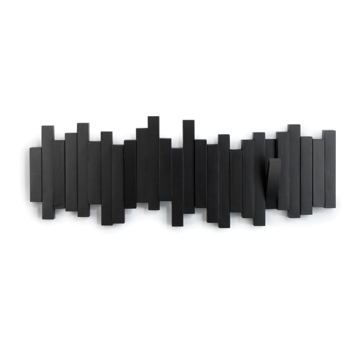 Umbra - Sticks Wandgarderobe, schwarz