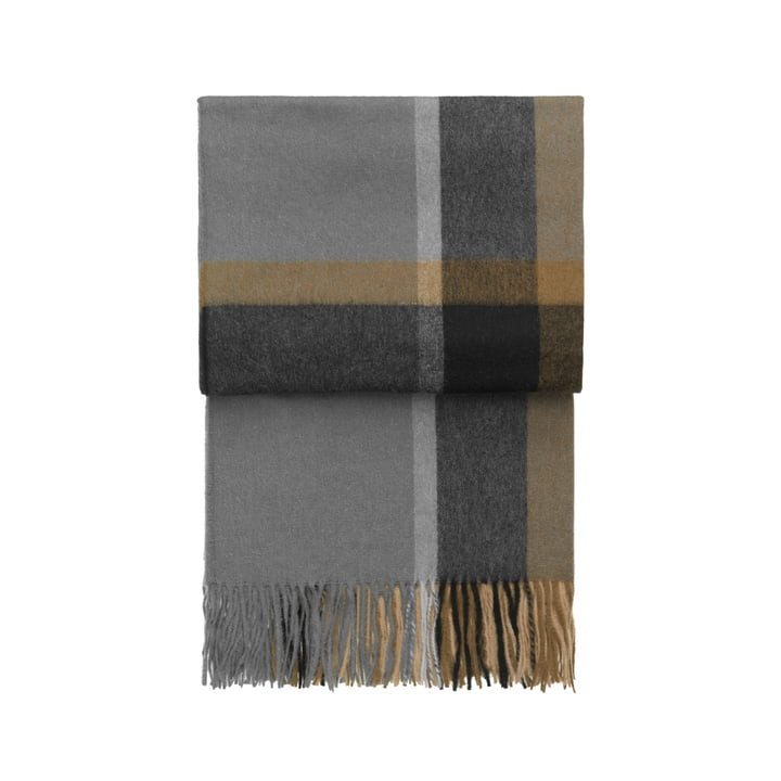 Elvang - Manhattan Decke, ocker / smoked glass
