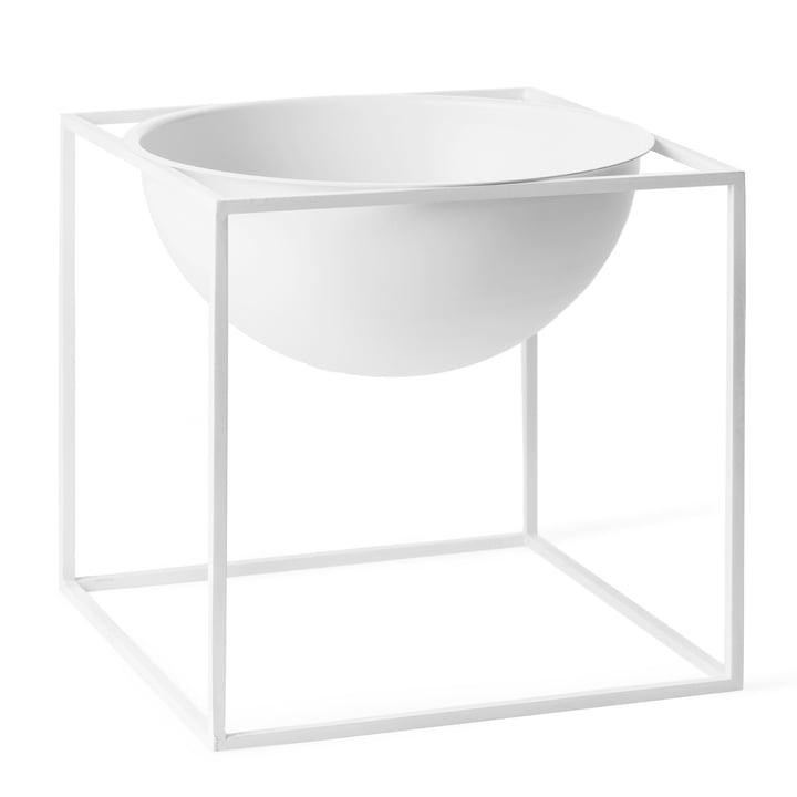 by Lassen - Kubus Bowl, groß, weiß