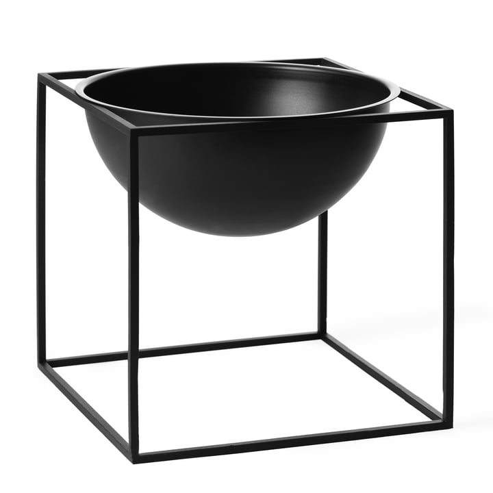 by Lassen - Kubus Bowl, groß, schwarz