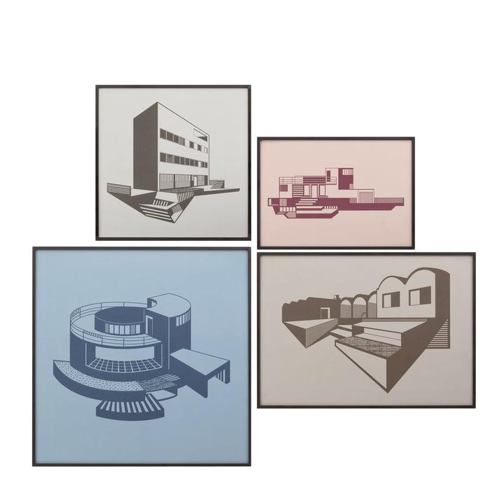 Kunstdrucke in Bilderrahmen von by Lassen