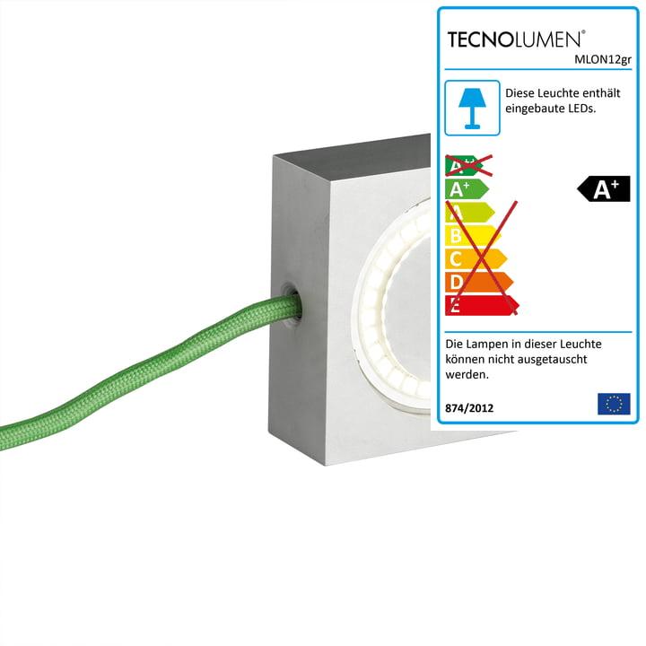 Tecnolumen - Square, grün