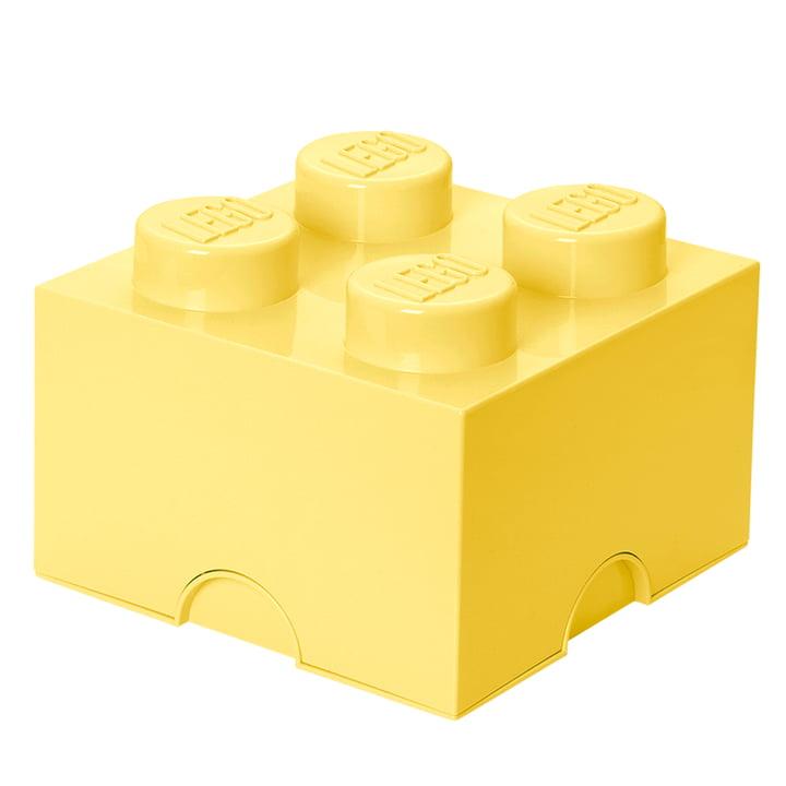 Storage Brick 4 von Lego in Cool Yellow
