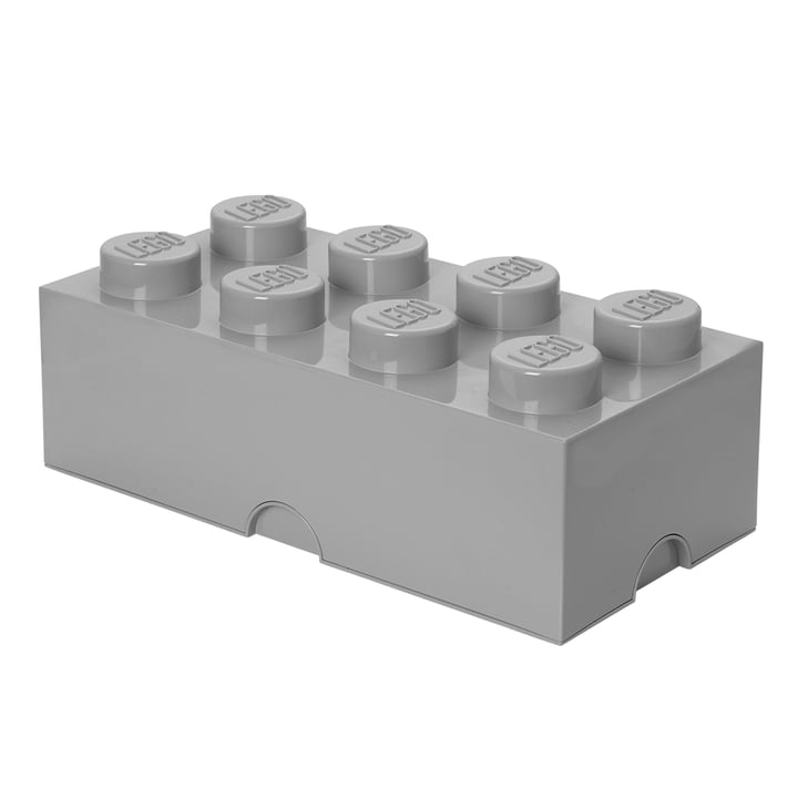 Storage Brick 8 von Lego in grau