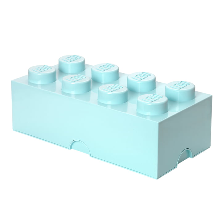 Storage Brick 8 von Lego in Aqua