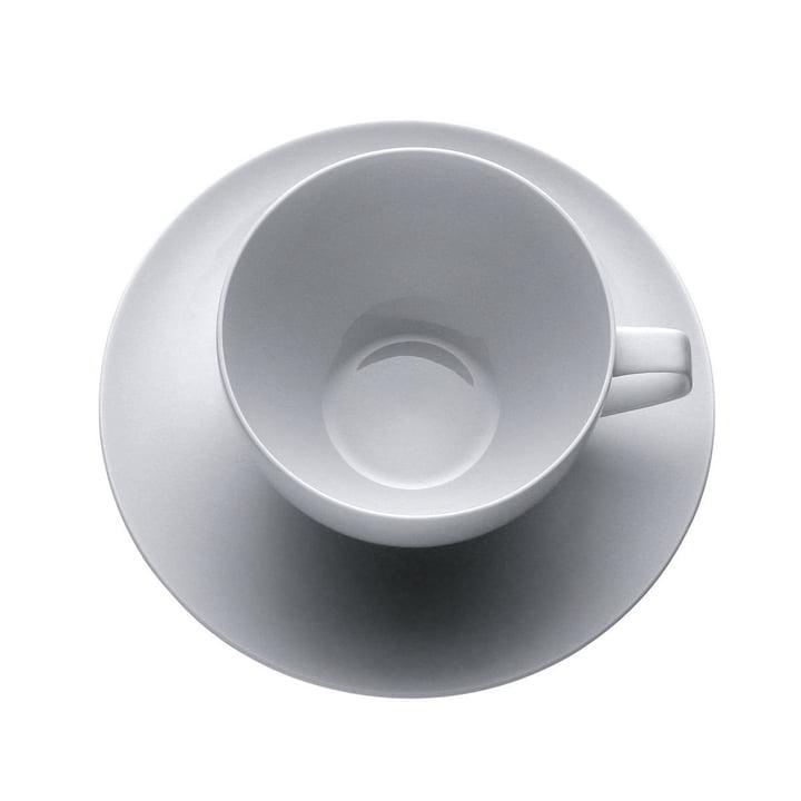 Rosenthal - TAC Kaffeeset - Tasse mit Untertasse - oben