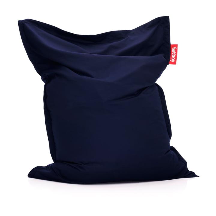 Original Outdoor Sitzsack in navy blue von Fatboy