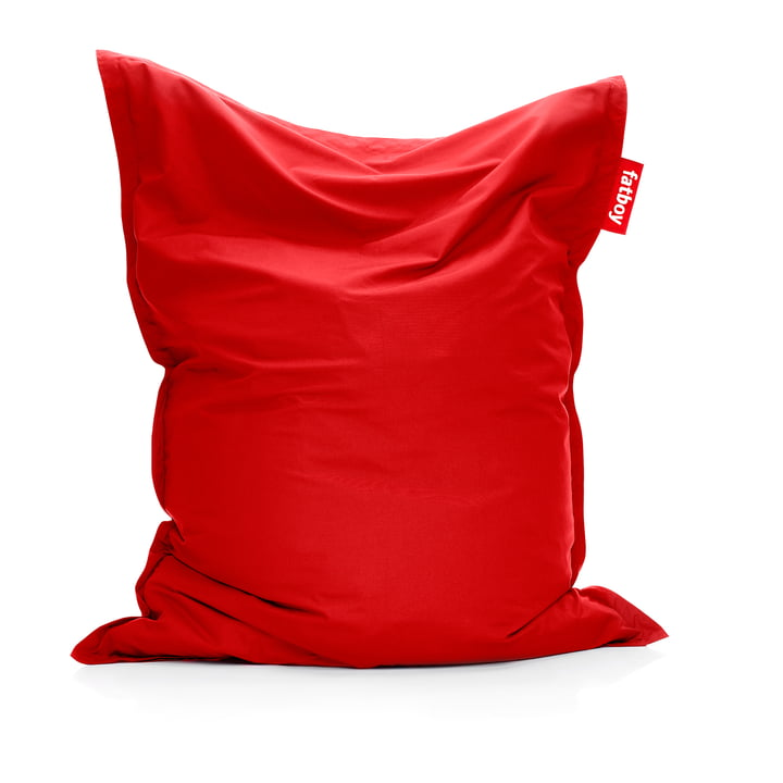Original Outdoor Sitzsack in red cytrus von Fatboy