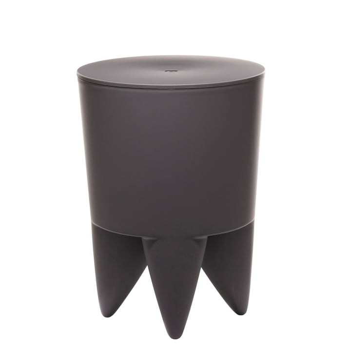 xO Design - Bubu 1er Hocker, charcoal grey