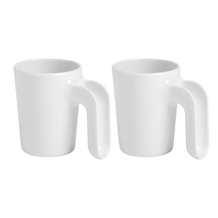 Ole Jensen - Cup II, weiß, 2er-Set