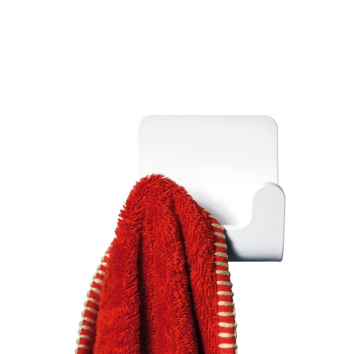 Puro Handtuchhaken von Radius Design in Weiß