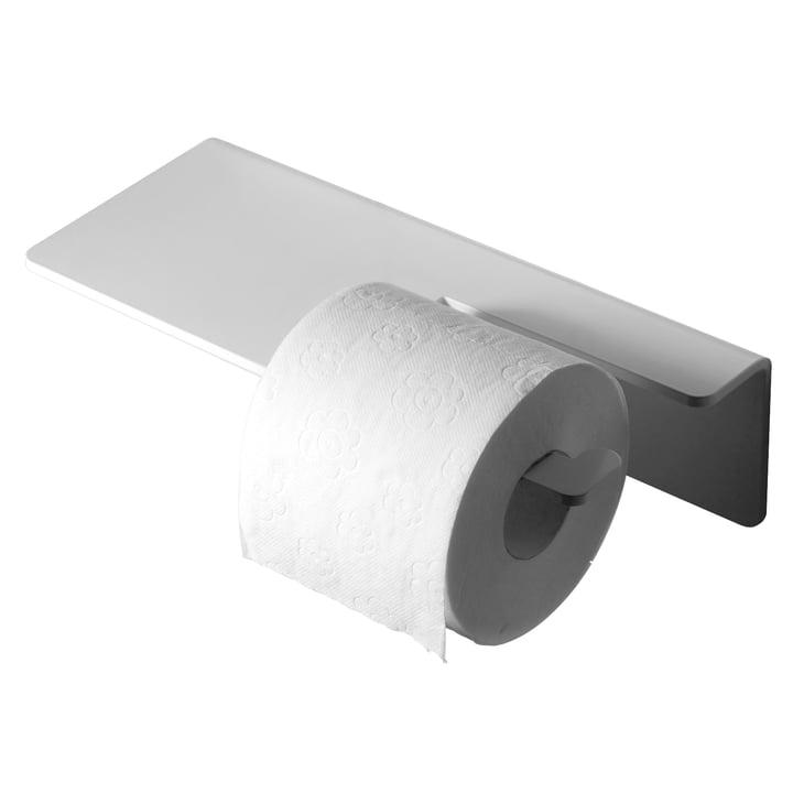 Puro Toilettenpapierhalter von Radius Design in Weiß