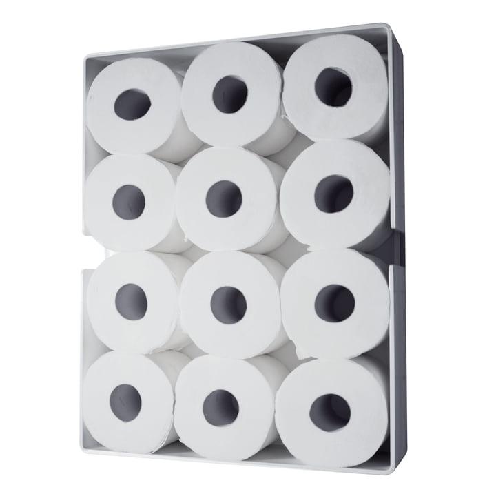 Puro Toilettenpapierschrank von Radius Design in Weiß