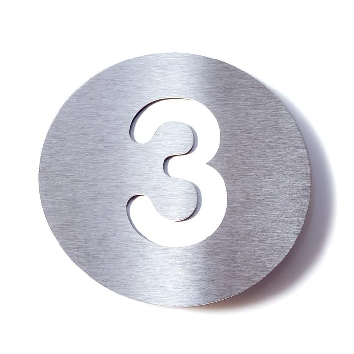 Hausnummer 3 von Radius Design
