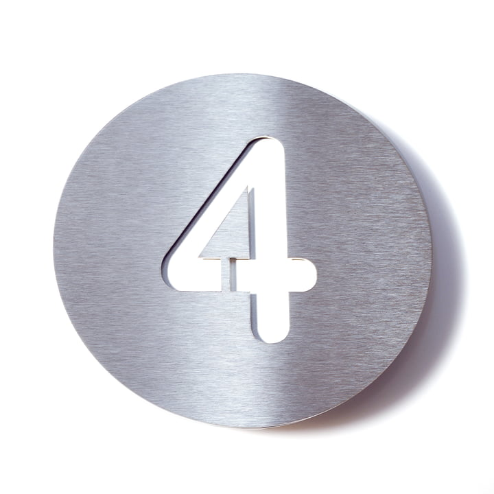 Hausnummer 4 von Radius Design