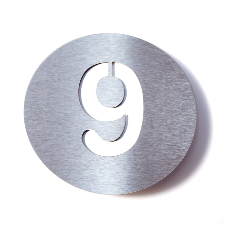 Hausnummer 9 von Radius Design