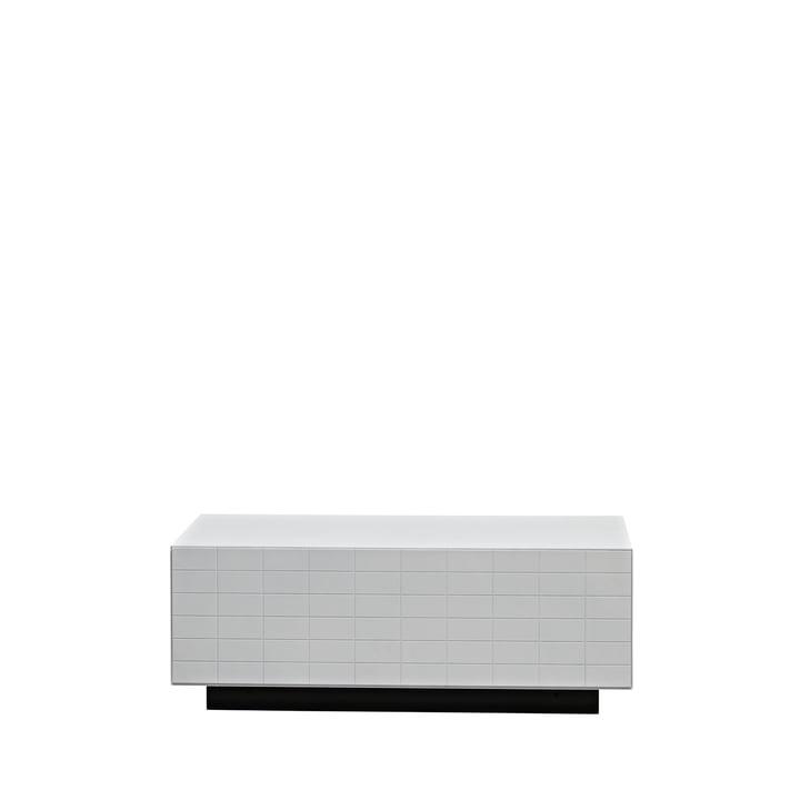 Casamania - Toshi Sideboard, Cabinet 1, Sockel, weiß