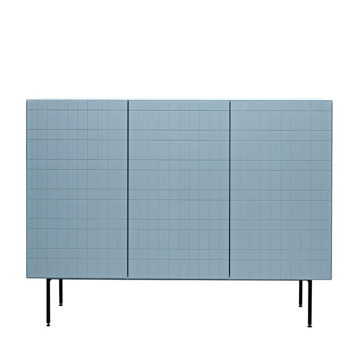 Casamania - Toshi Sideboard, Cabinet 4, Füße, azur