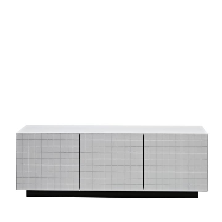 Casamania - Toshi Sideboard, Cabinet 3, Sockel, weiß