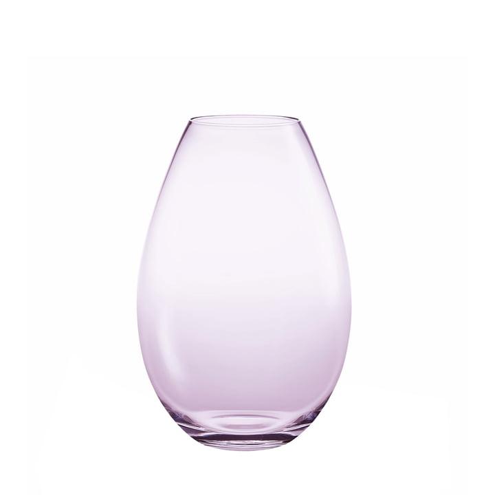 Holmegaard - Cocoon Vase, 17 cm, fuchsia
