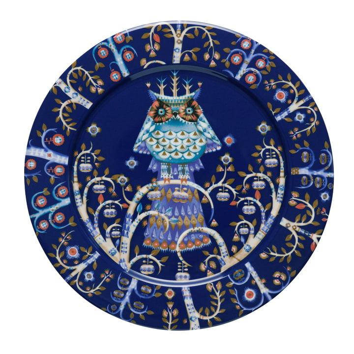 Iittala - Taika Teller flach, blau Ø 27 cm