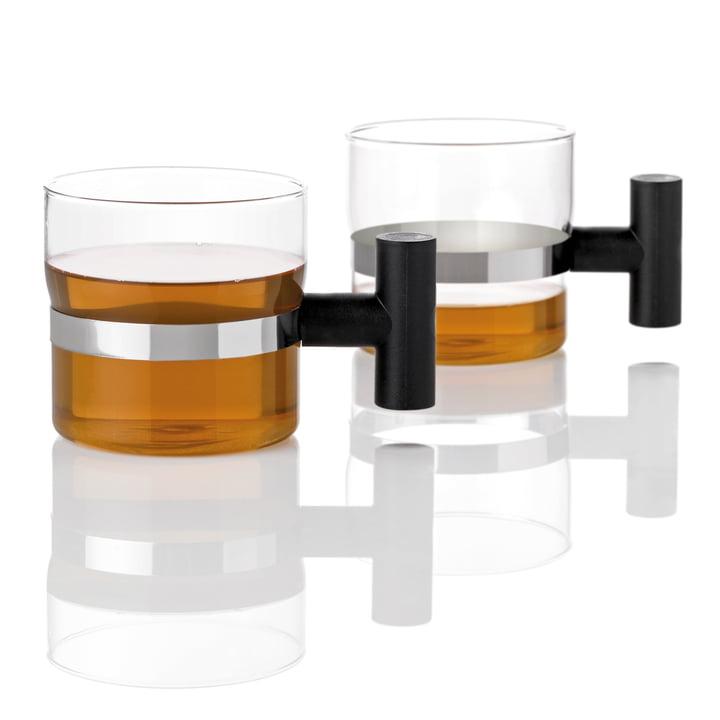Stelton - T Tasse, 2er-Set - mit Tee