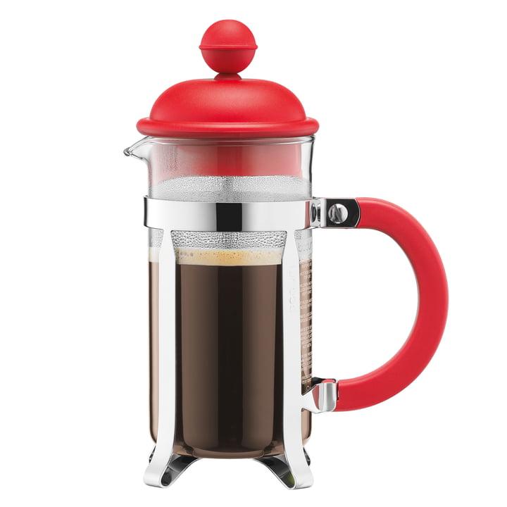 Bodum - Caffettiera Kaffeebereiter, 1 l, rot