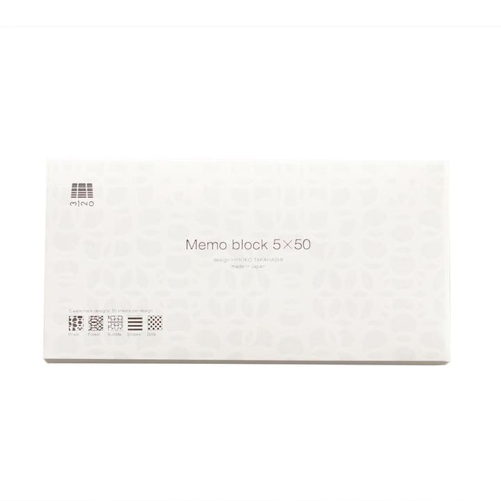 3120 Mino - Memo Block 5x50, L