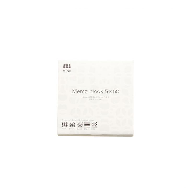 3120 Mino - Memo Block 5x50, S