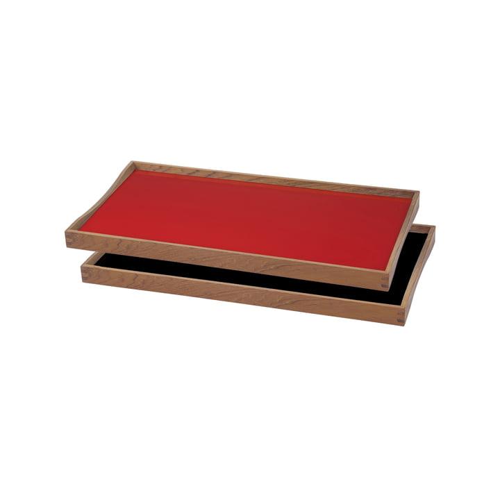 ArchitectMade - Tablett Turning Tray, 23 x 45, rot