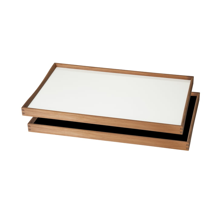 ArchitectMade - Tablett Turning Tray, 30 x 48, weiß