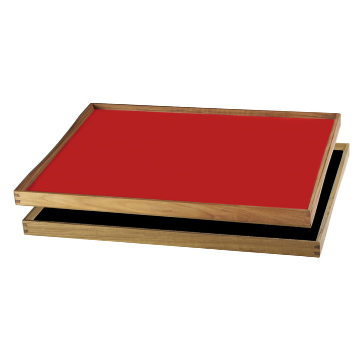 ArchitectMade - Tablett Turning Tray, 38 x 51, rot