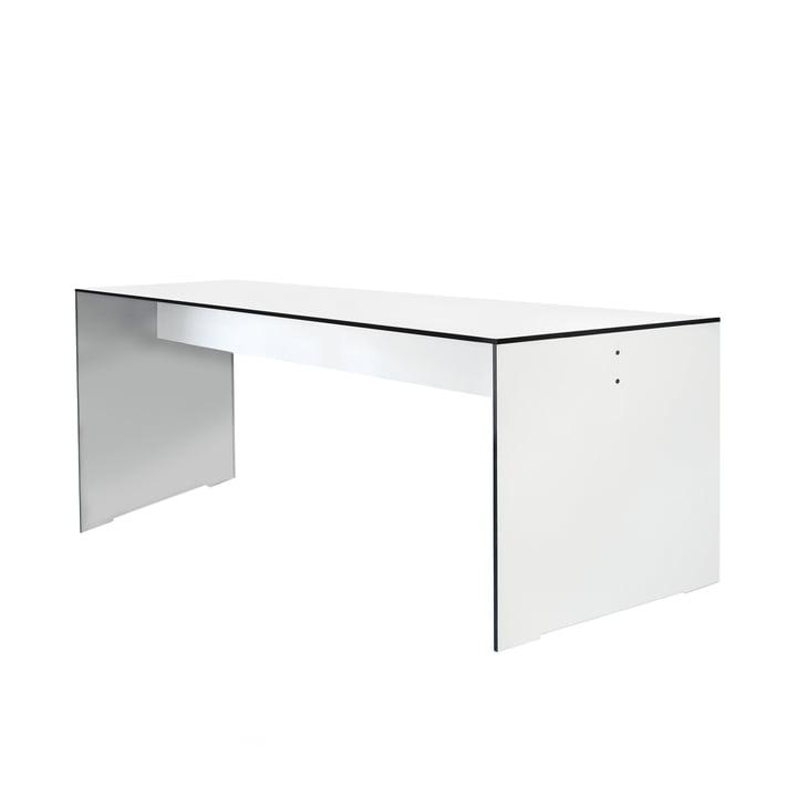 Conmoto - Riva Tisch, weiß, 180 cm