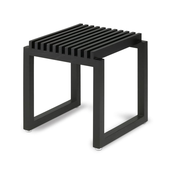 Skagerak - Cutter Holz Hocker, schwarz