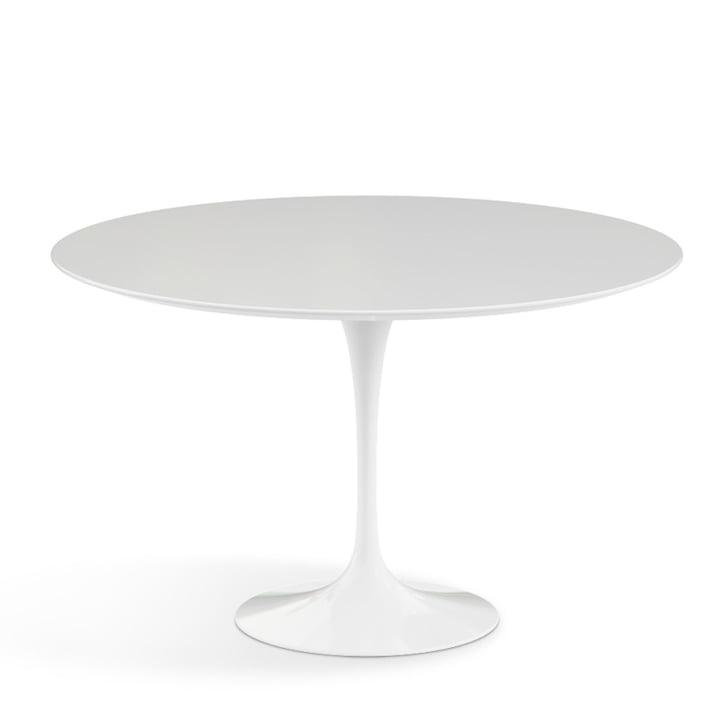 Knoll - Saarinen Tisch Ø 120 cm, weiß