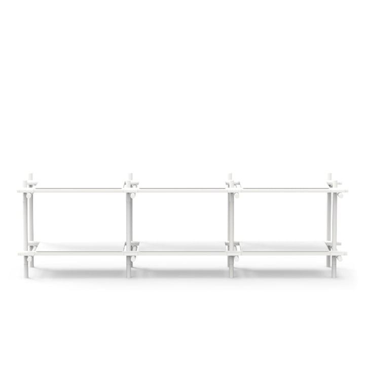 Stick System 3 x 2 von Menu in weiß / Esche weiß