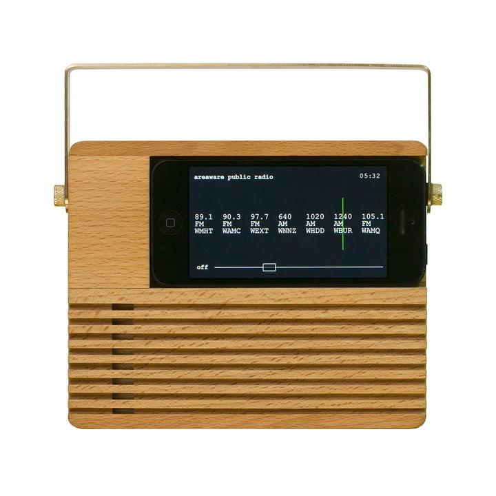areaware - RadioDock iPhone 4 / 4S & 5