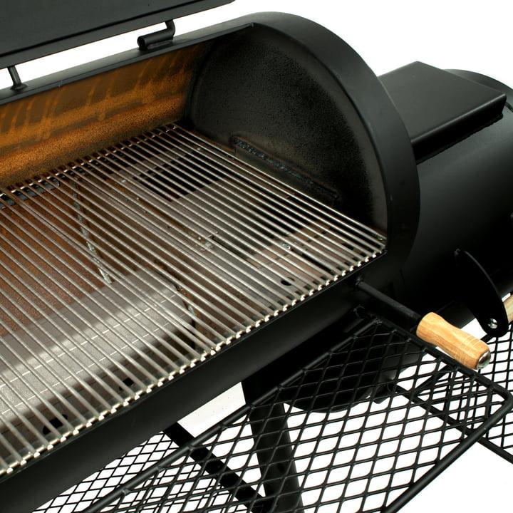 Joe´s Barbeque Smoker - Hitzverteilungssystem