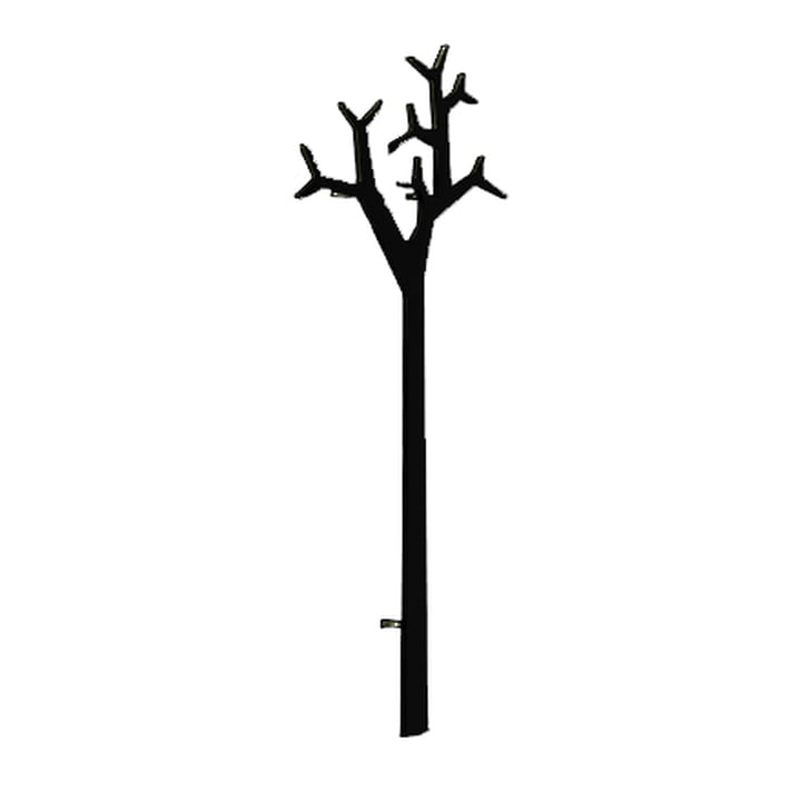 Swedese Tree Wandmontierter Kleiderständer - 194 cm, schwarz