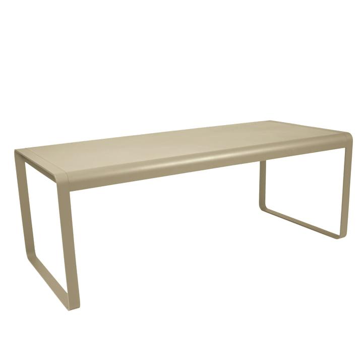 Bellevie Tisch von Fermob in Muskat