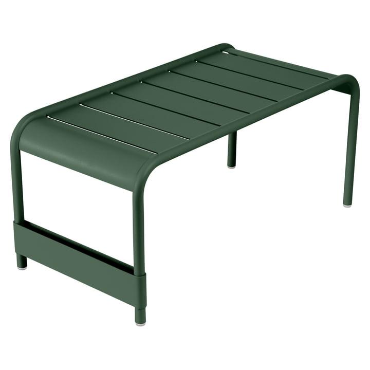 Luxembourg breiter / niedriger Tisch von Fermob in Zederngrün