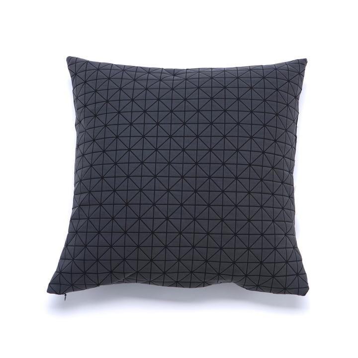 Mika Barr - Geo Origami Kissenbezug 50 x 50 cm, schwarz