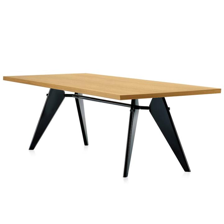 Em Table Esstisch von Vitra Eiche in natur/ schwarz