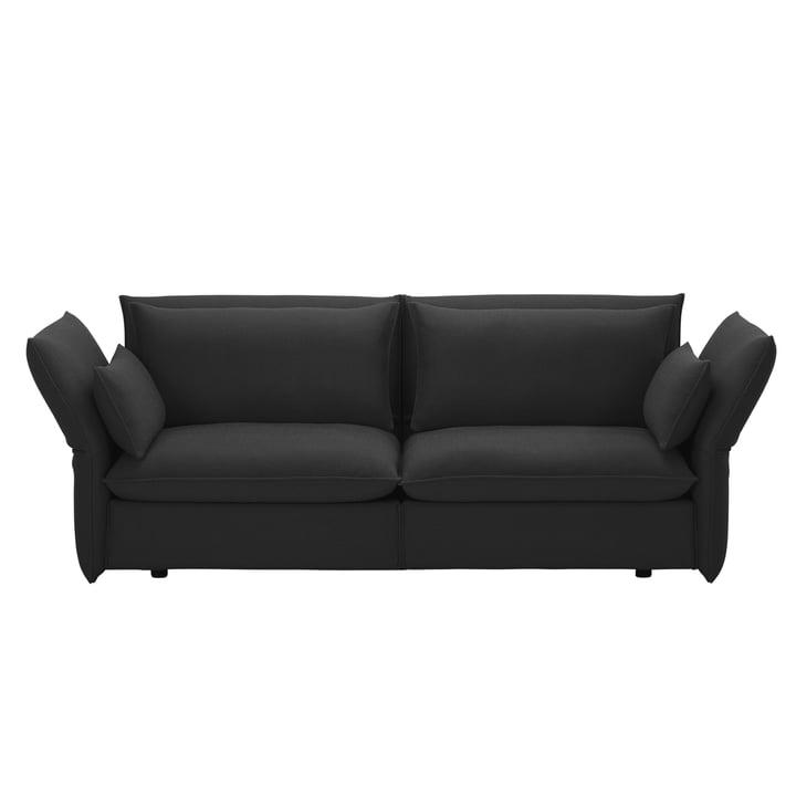 Vitra - Mariposa Sofa 2.5-Sitzer, dunkelgrau (Laser 03)