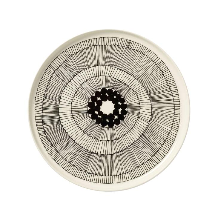 Marimekko - Siirtolapuutarha Teller, weiß / schwarz