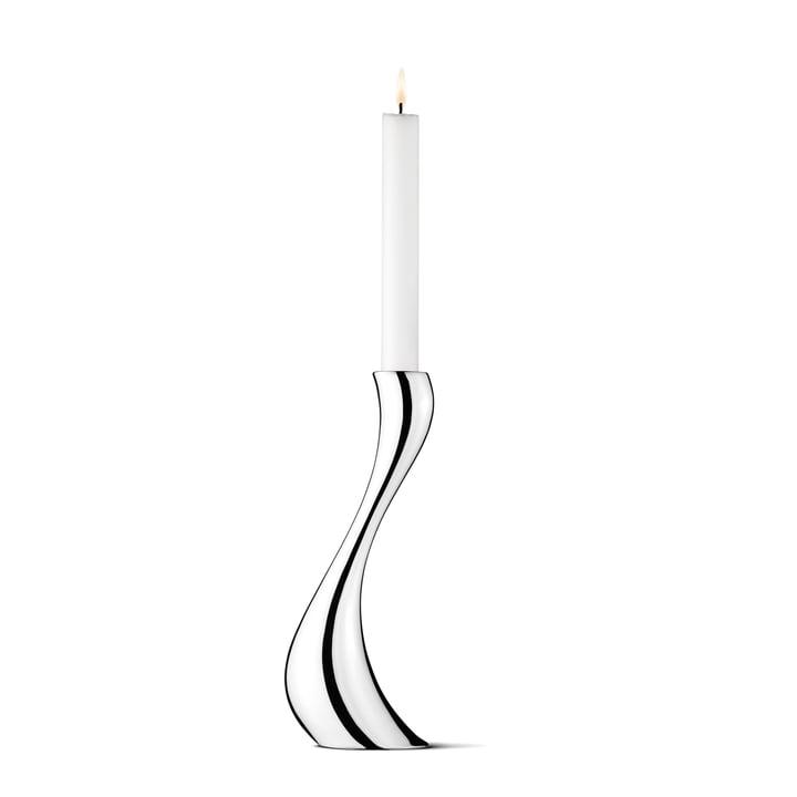 Georg Jensen - Cobra Kerzenleuchter, 24 cm