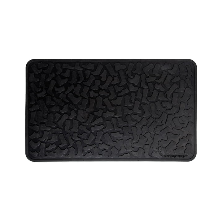 tica copenhagen - Türmatte 45 x 75 cm, schwarz