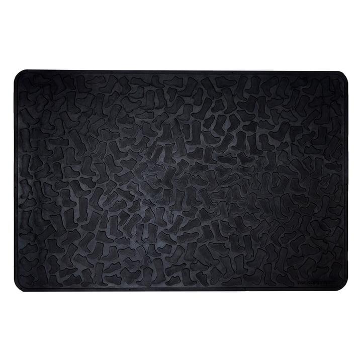 Türmatte footwear 60 x 90 cm von tica copenhagen in schwarz