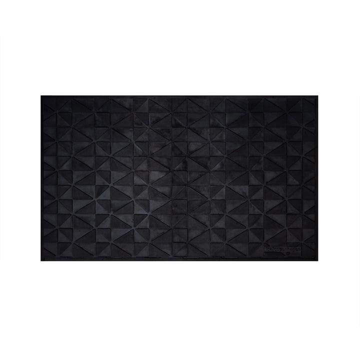 Türmatte graphic 45 x 75 cm von tica copenhagen in schwarz